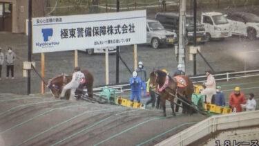 【動画】ばんえい競馬で騎手が競走馬の顔を蹴る 批判殺到し主催者が謝罪