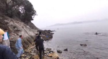 溺死事故のあったアバンティーズの前で溺れるふりをして炎上した水溜りボンド