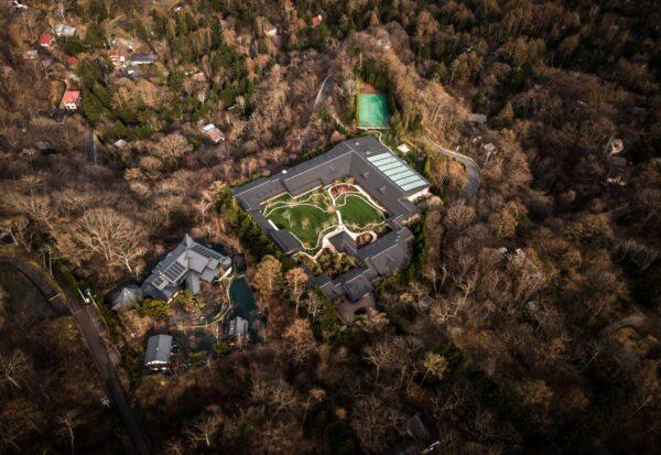 軽井沢のビルゲイツの別荘2