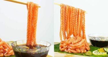 サーモン麵