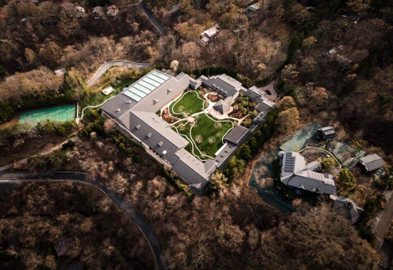 軽井沢のビルゲイツの別荘1