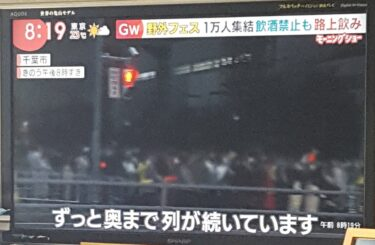 緊急事態宣言中の野外フェス『JAPAN JAM』に批判殺到 コロナでもマナー無視の客多数