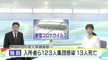 神戸市長田区の老健施設でコロナクラスター隠ぺいか? 看護師が告発しNHK報道で明るみに