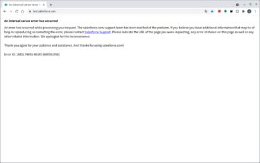 Salesforceで障害発生!⇒世界各国でログインできないとの情報相次ぐ