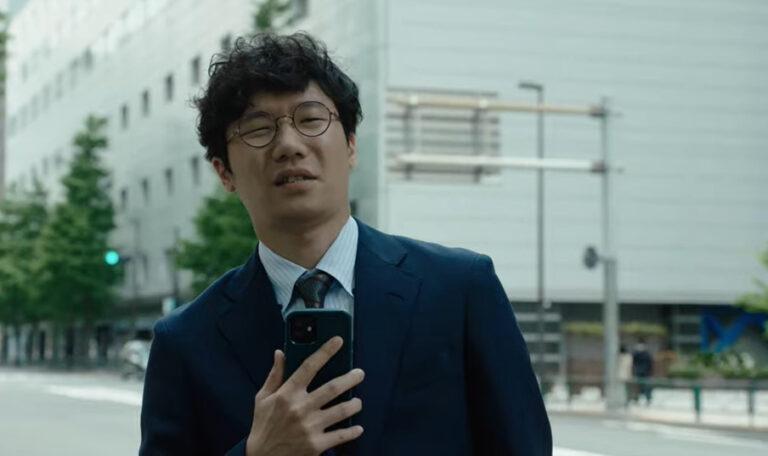 タクシーアプリ「GO」のCMで竹野内豊と共演する前原滉さん