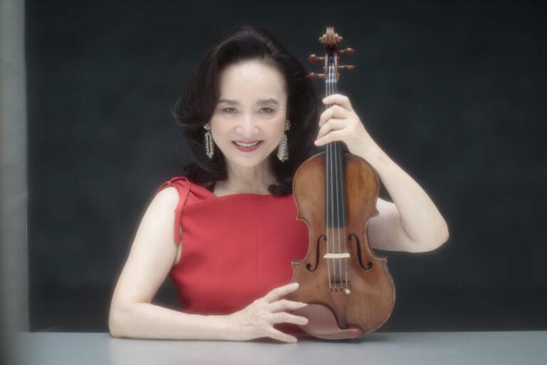 ヴァイオリニストの前橋汀子