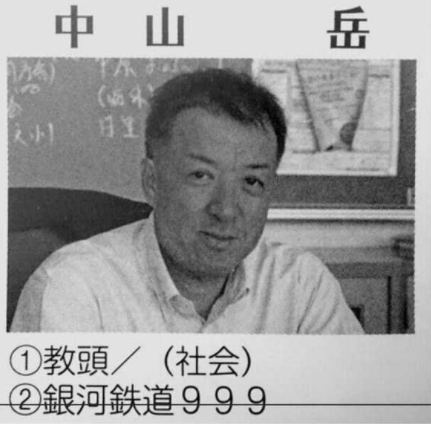 中山岳教頭の顔画像