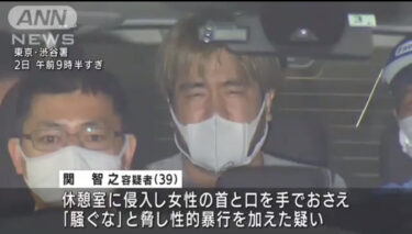 関智之の顔画像,自宅住所,Facebook!渋谷区ビルで女性にわい*つ行為をし逮捕