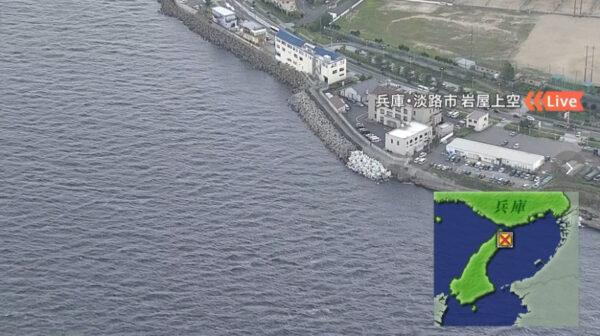 淡路島水上バイクの事故の場所はどこ?