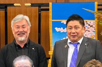 井ノ口忠男と籔本雅巳の顔画像